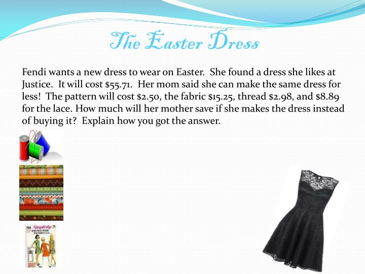 The Easter Dress