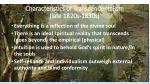 characteristics of transcendentalism late 1820s 1830s