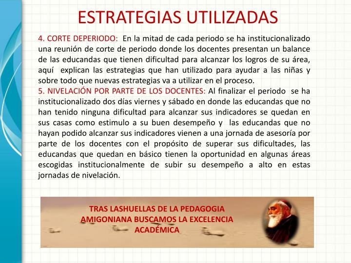 ESTRATEGIAS UTILIZADAS