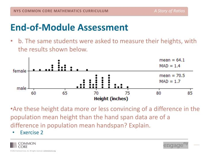 End-of-Module Assessment