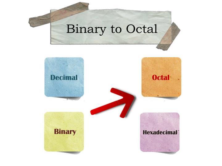 Binary to Octa