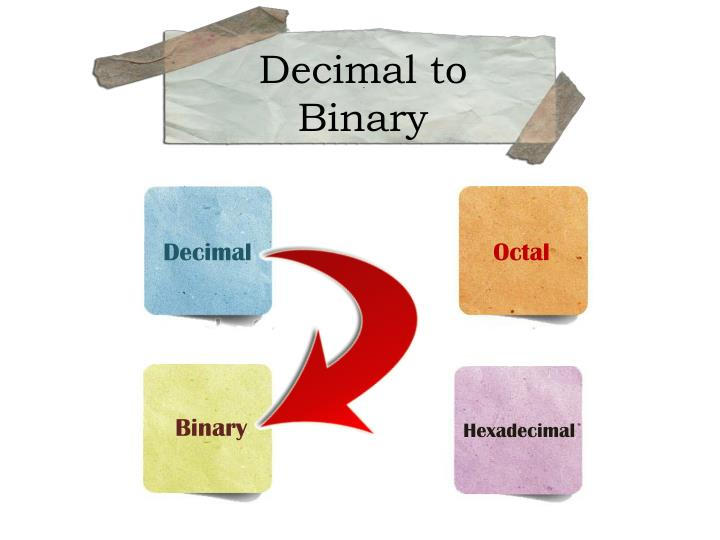 Decimal to Binary