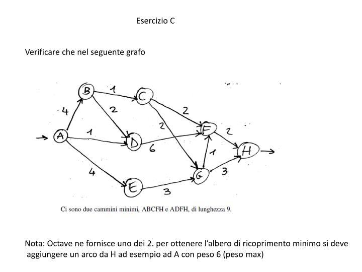 Esercizio C
