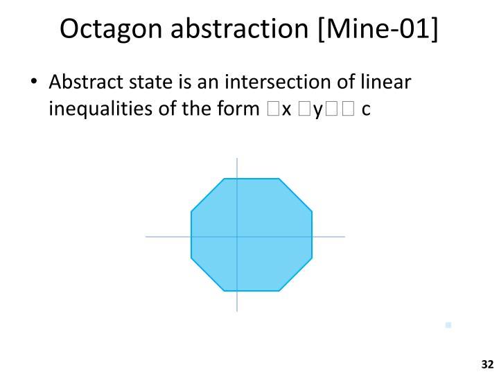 Octagon abstraction [Mine-01]