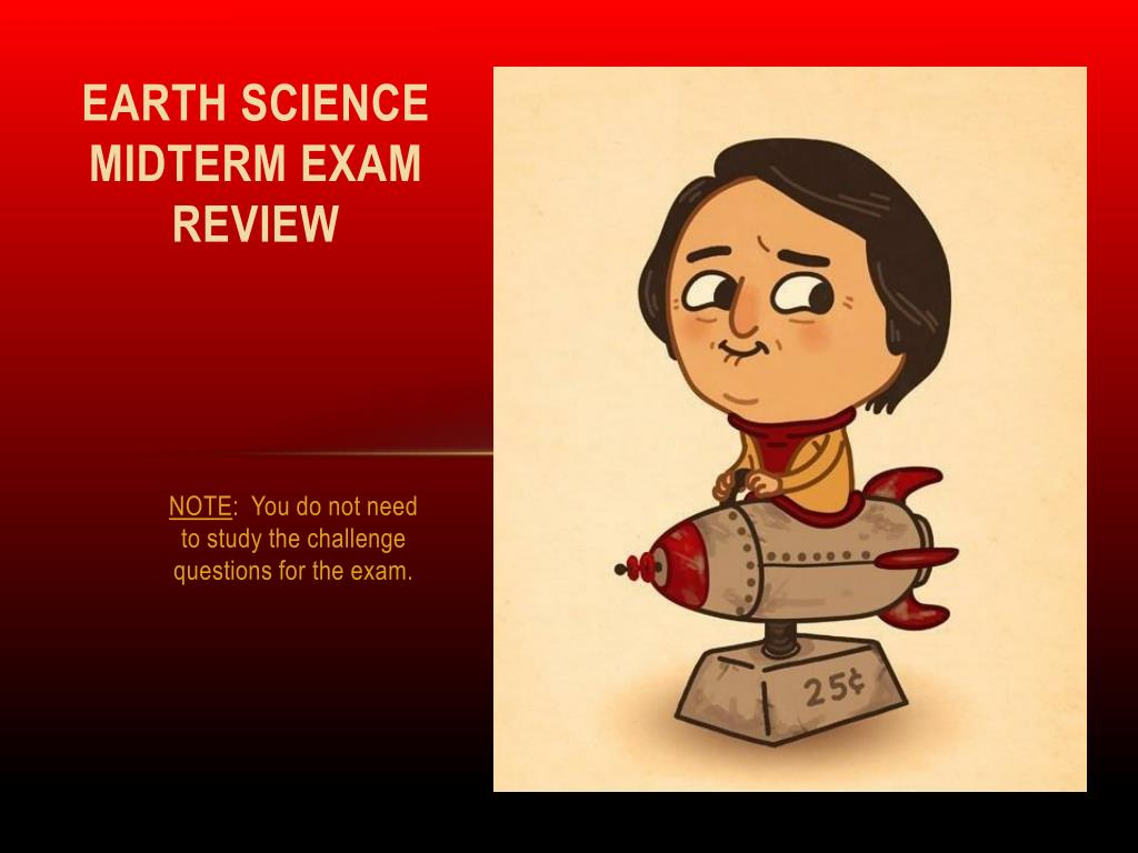 earth science review for final exam
