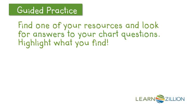 Find one of your resources and look for
