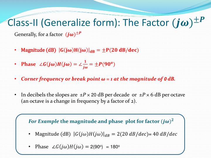 Class-II (Generalize form): The Factor