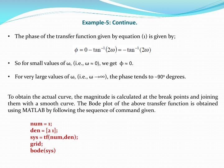 Example-5: Continue.