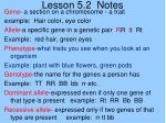 lesson 5 2 notes