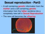 sexual reproduction part3