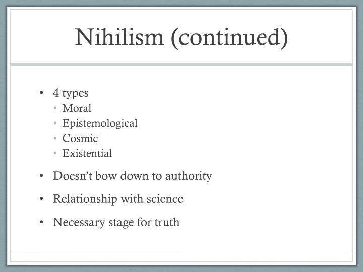 nihilism in crime and punishment