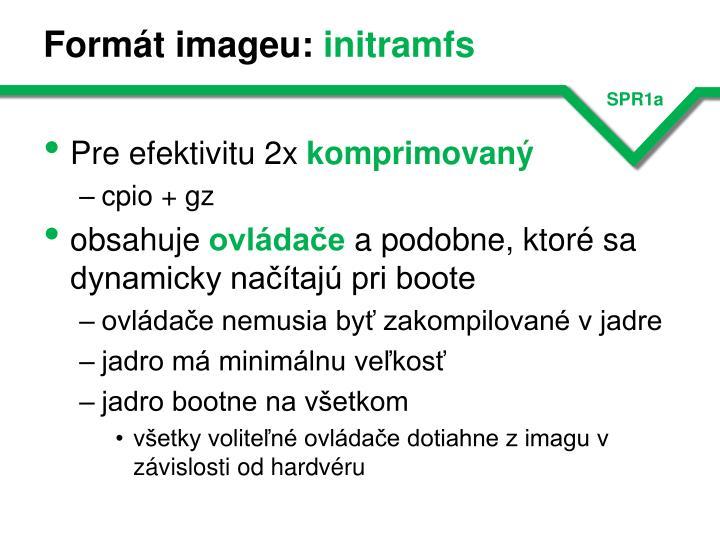 Formát imageu: