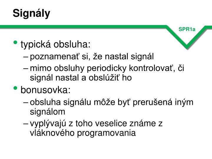 Signály