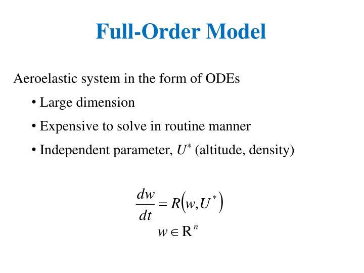 Full-Order Model