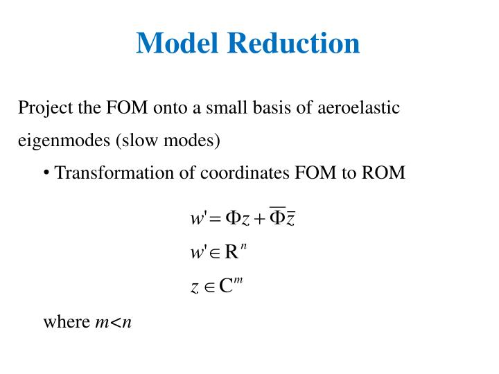 Model Reduction