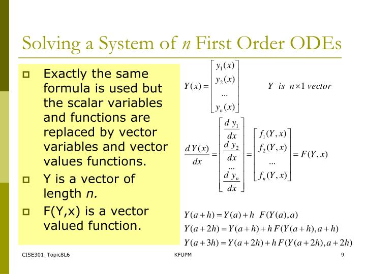 Solving a System of