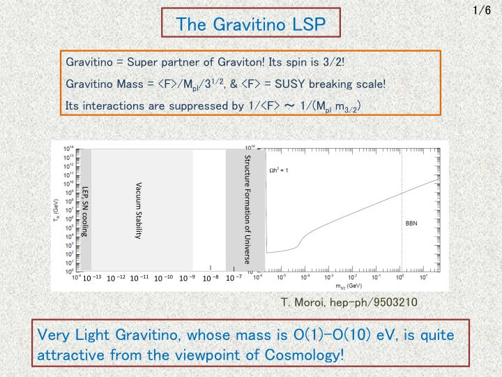 The gravitino lsp