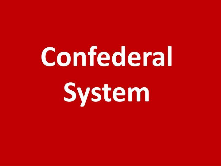 Confederal