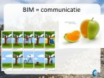 bim communicatie