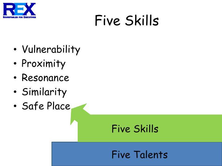 Five Skills