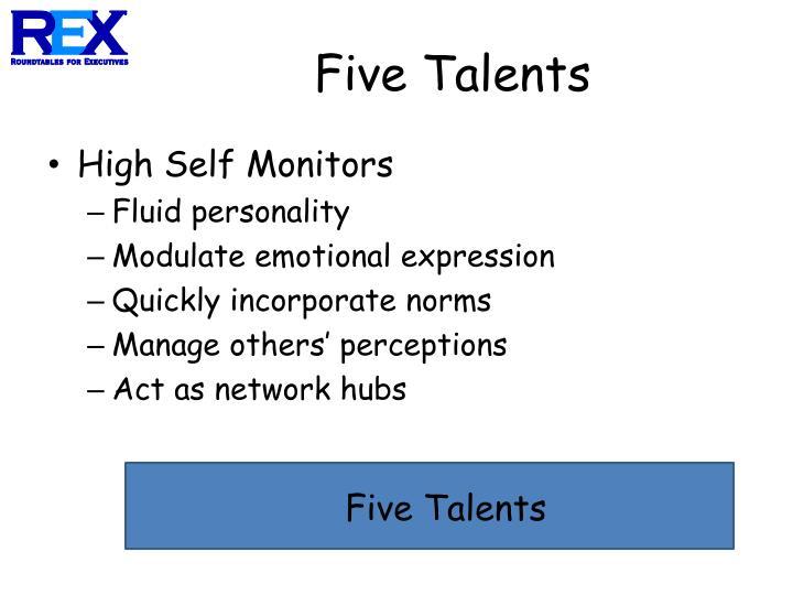 Five Talents