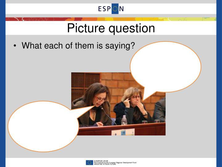 Picture question