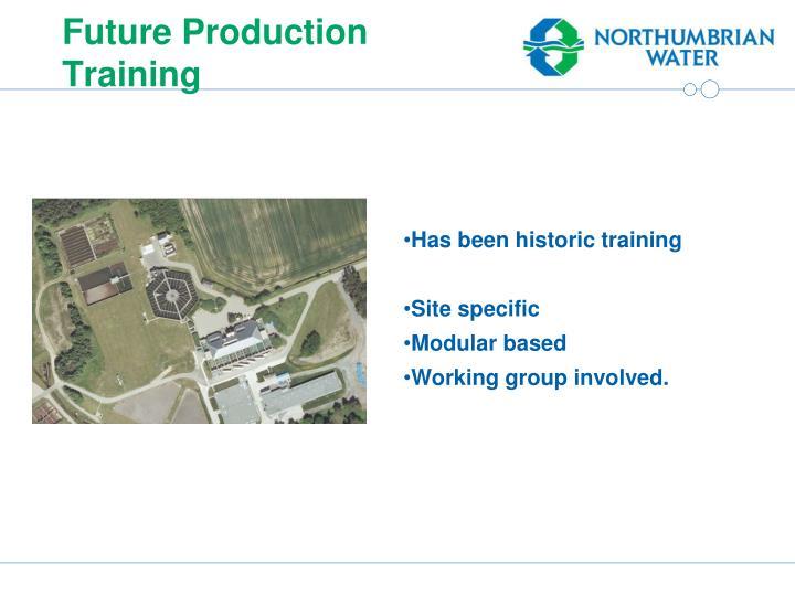 Future Production Training