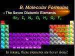 b molecular formulas2