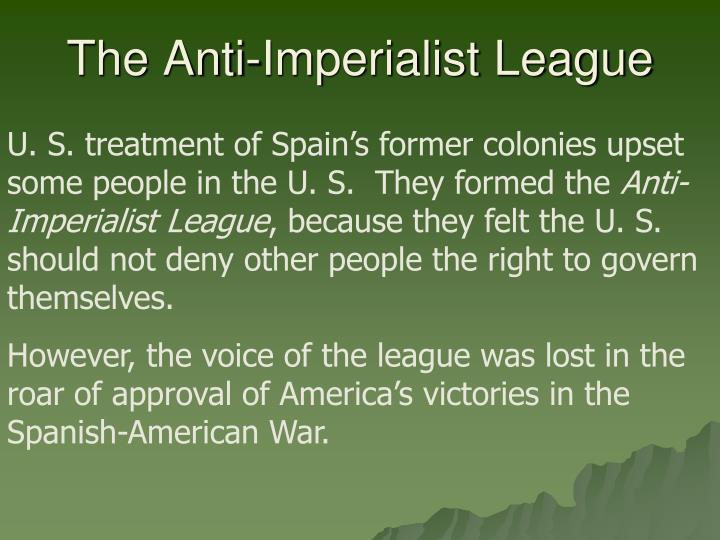 The Anti-Imperialist League