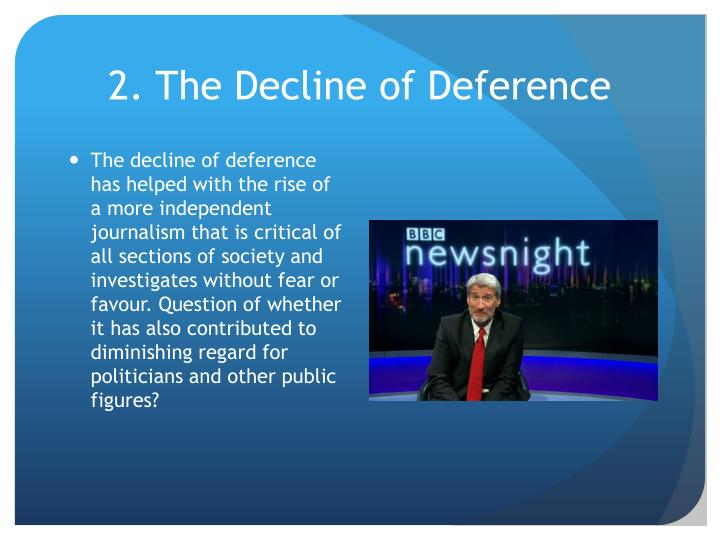 2. The Decline of Deference
