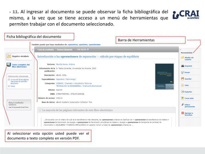 Ficha bibliográfica del documento