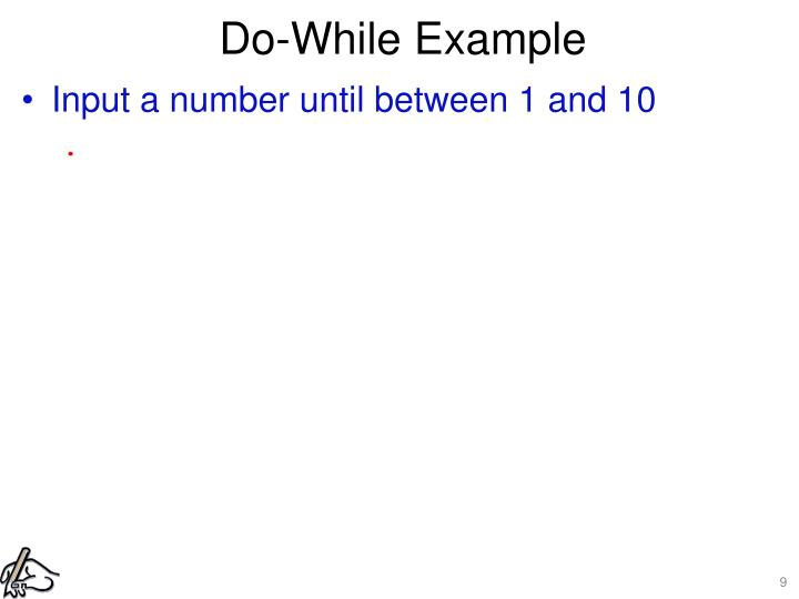 Do-While Example