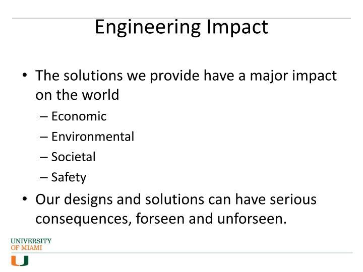 Engineering impact1