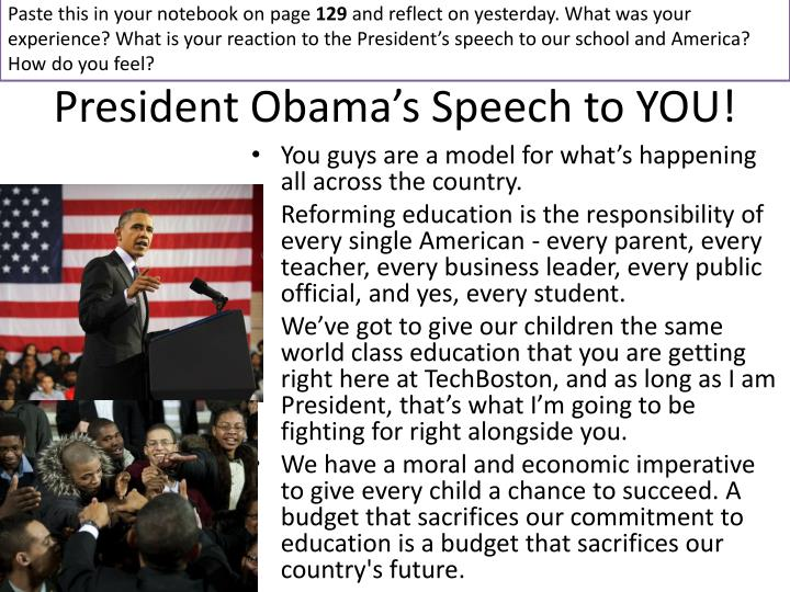 President obama s speech to you1