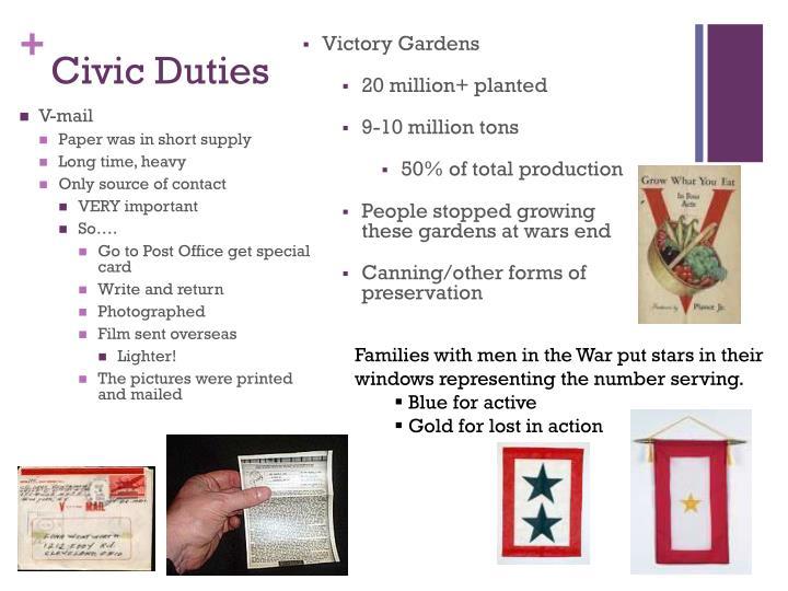 Civic duties