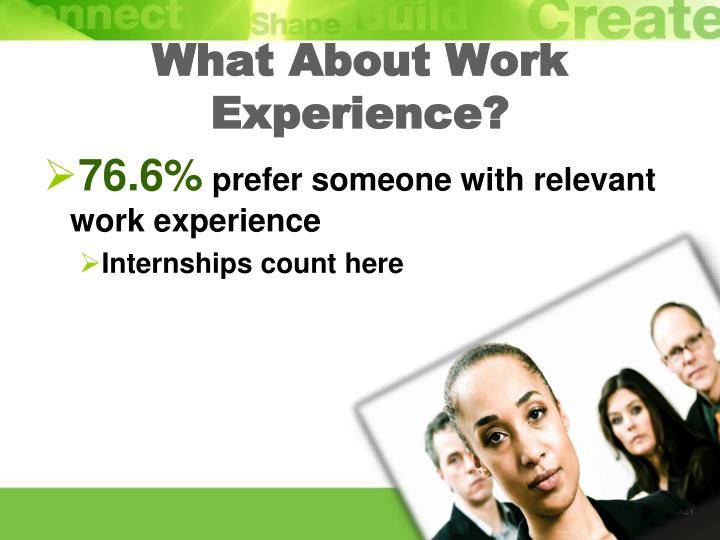 What About Work Experience?