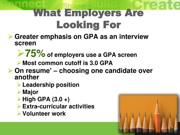 What Employers Are