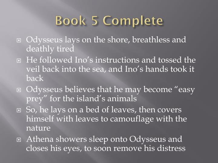 Book 5 Complete