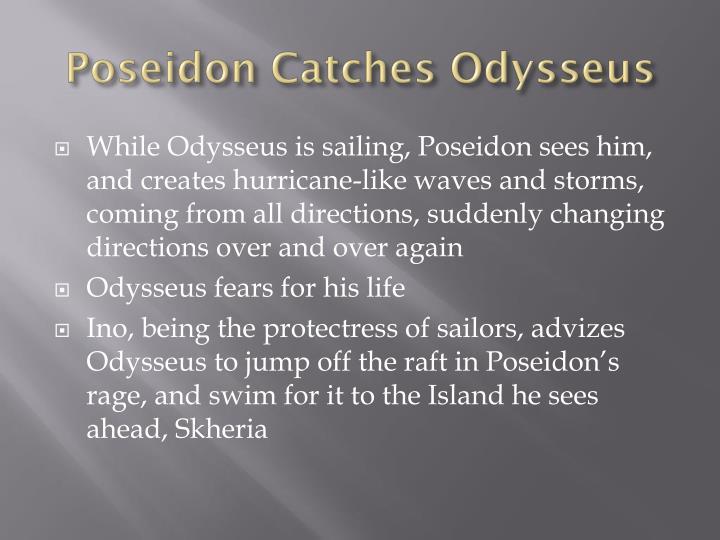 Poseidon Catches Odysseus
