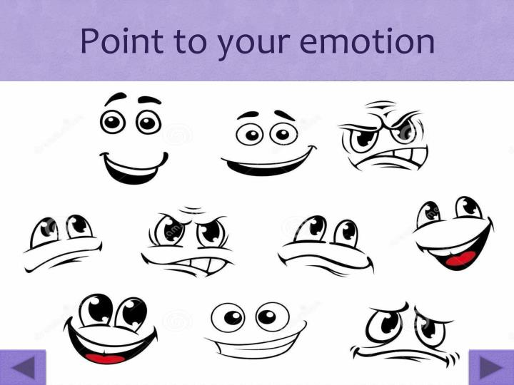 Point to your emotion