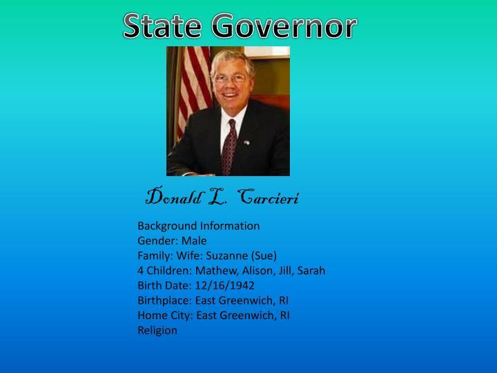 State Governor
