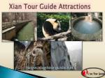 xian tour guide attractions
