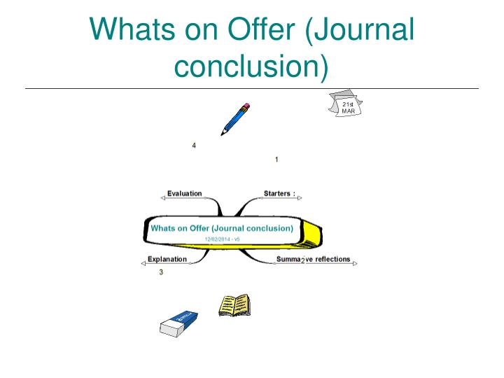 Whats on offer journal conclusion1