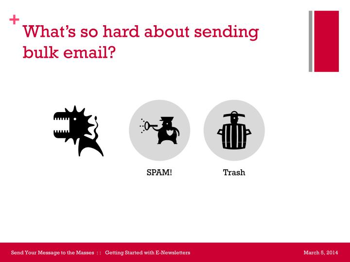 What's so hard about sending