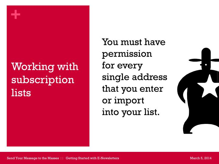 You must have permission