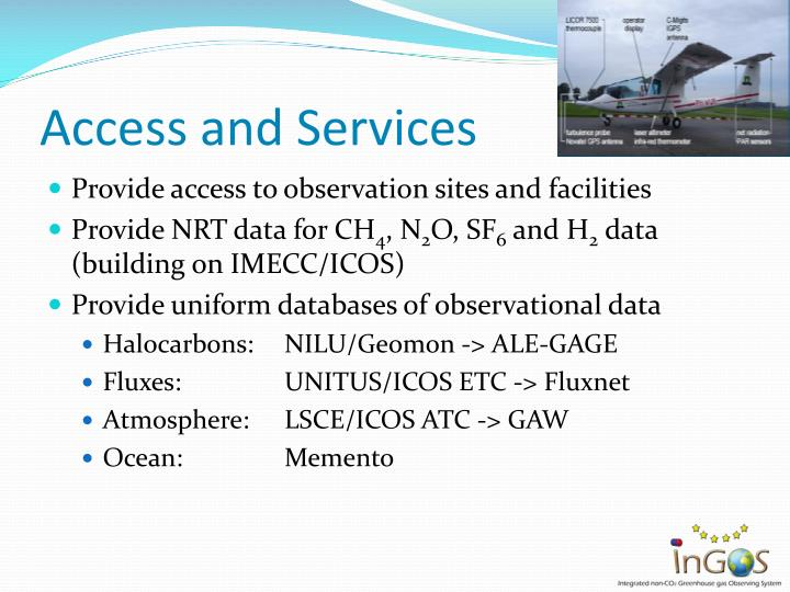 Access and Services