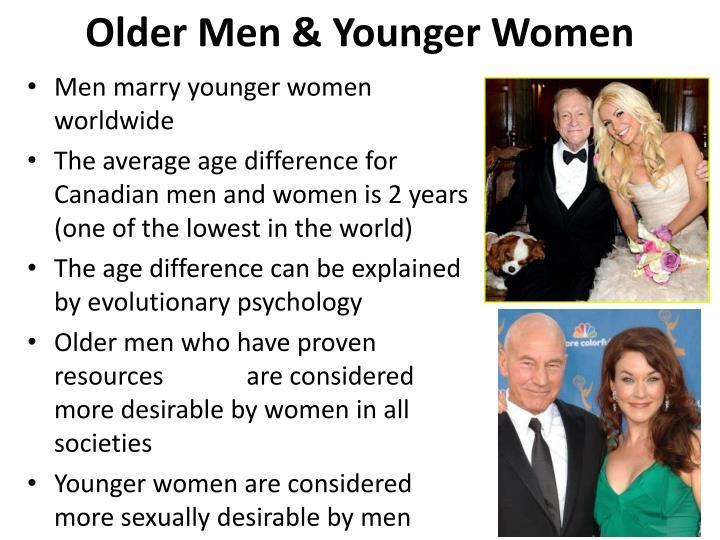 Older Men & Younger Women