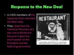 response to the new deal3