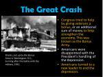 the great crash9