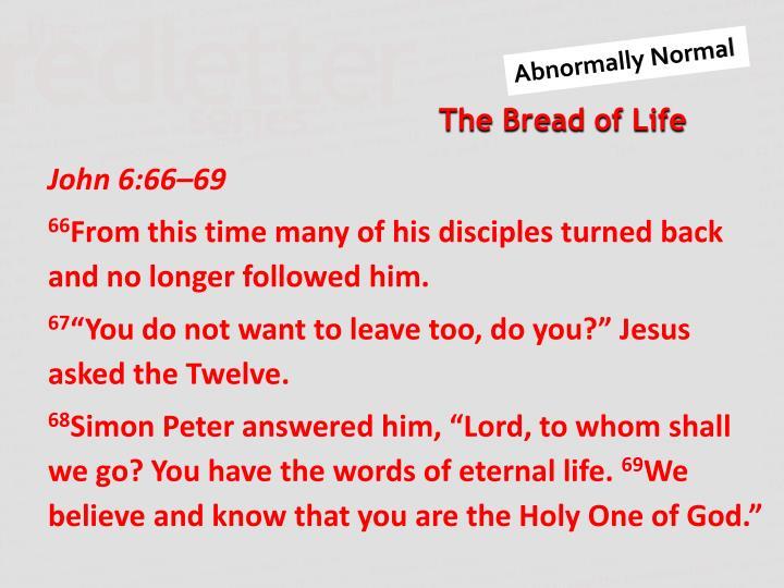 John 6:66–69